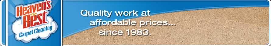 Quality work at affordable prices since 1983.