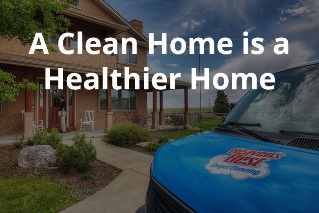 A Clean Home is a Healthier Home