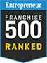 Entrepreneur Franchise 500 Ranked Logo